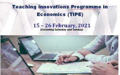 Teaching Innovations Programme in Economics (TIPE)